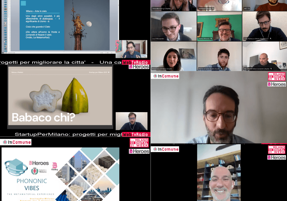 StartupPerMilano - collage